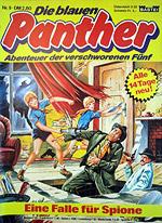 DIE BLAUEN PANTHER 9 – ABENTEUER DER VERSCHWORENEN FÜNF – EINE FALLE FÜR SPIONE
