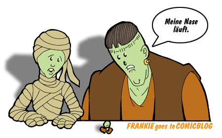 FRANKIE goes to COMICBLOG